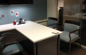 Rendezett irodai környezet
